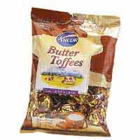 BALA ARCOR BUTTER TOFFEES 130G CHOCOLATE