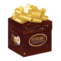 BOMBOM FERRERO ROCHER CUBO COLLECTION T6 64G