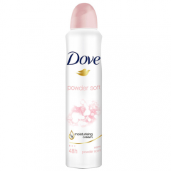 DESODORANTE DOVE AEROSOL ANTITRANSPIRANTE 89G 150ML POWDER SOFT